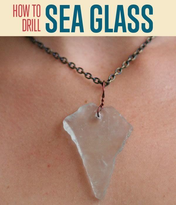 Fotografía - Toma de la joyería DIY | Perforación de cristal del mar