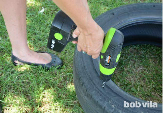 Oscilación del neumático DIY - Paso 2
