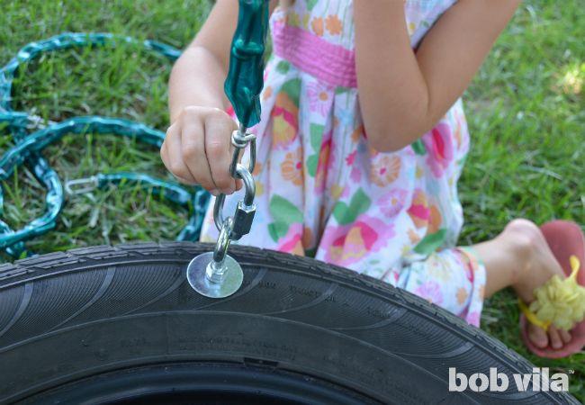 Oscilación del neumático DIY - Paso 4