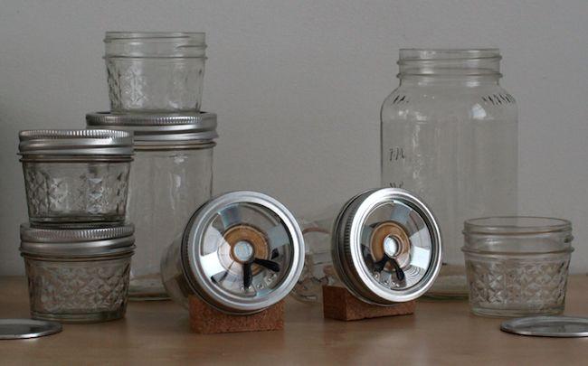 DIY Mason Jar Speaker Set - Vaso Vignette