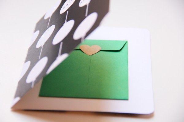 Titular de la tarjeta del dinero de tarjetas de regalo de bricolaje