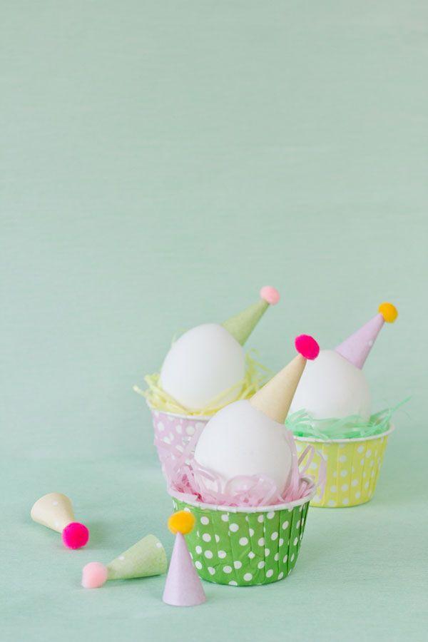 DIY Gorro de fiesta Huevos de Pascua