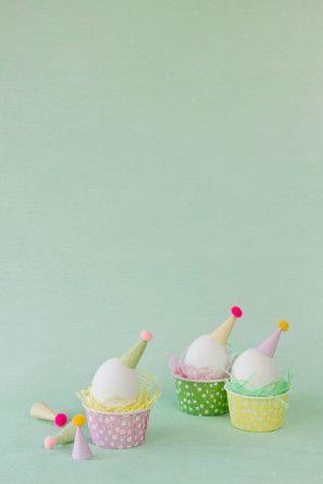 Sombrero del partido del huevo de Pascua DIYs