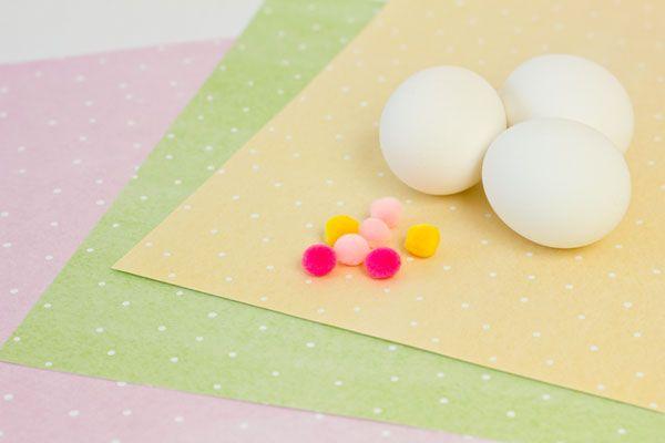 Suministros huevo Partido Sombrero