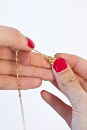 DIY partido del oro de la joyería del sombrero
