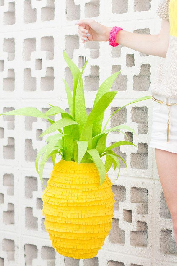 Piña Piñata DIY