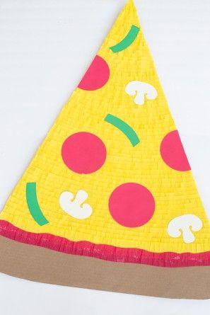 DIY Rebanada de pizza + repartidor de Parejas de vestuario