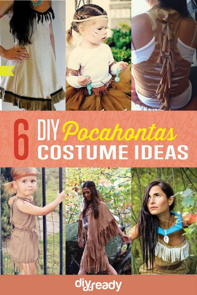 Fotografía - Bricolaje Ideas Pocahontas Costume