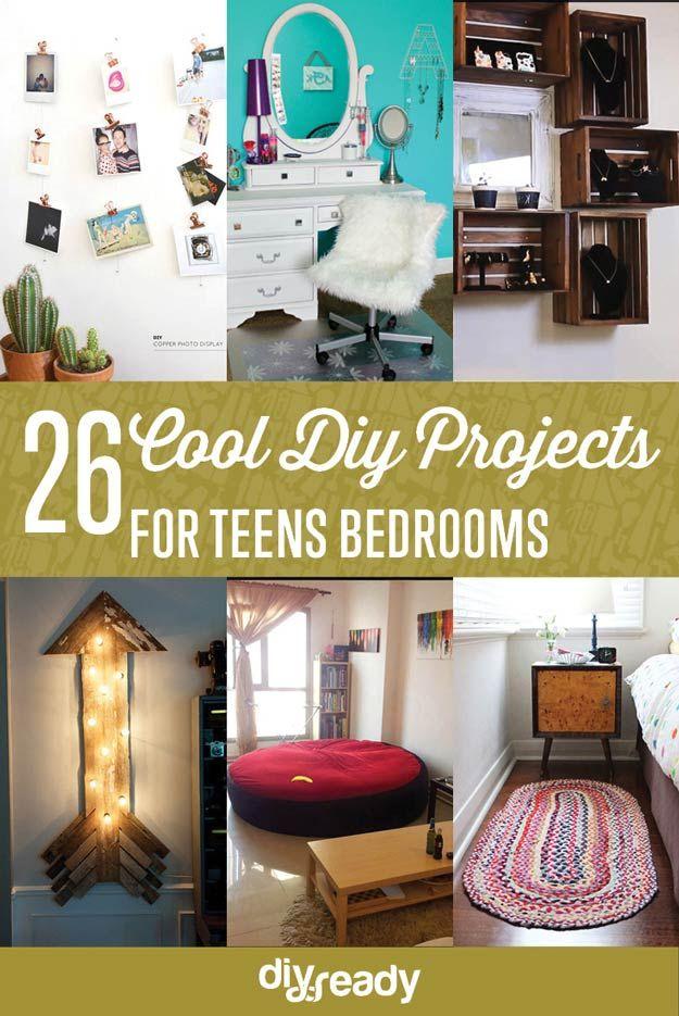Fotografía - Proyectos DIY para Adolescentes Dormitorio