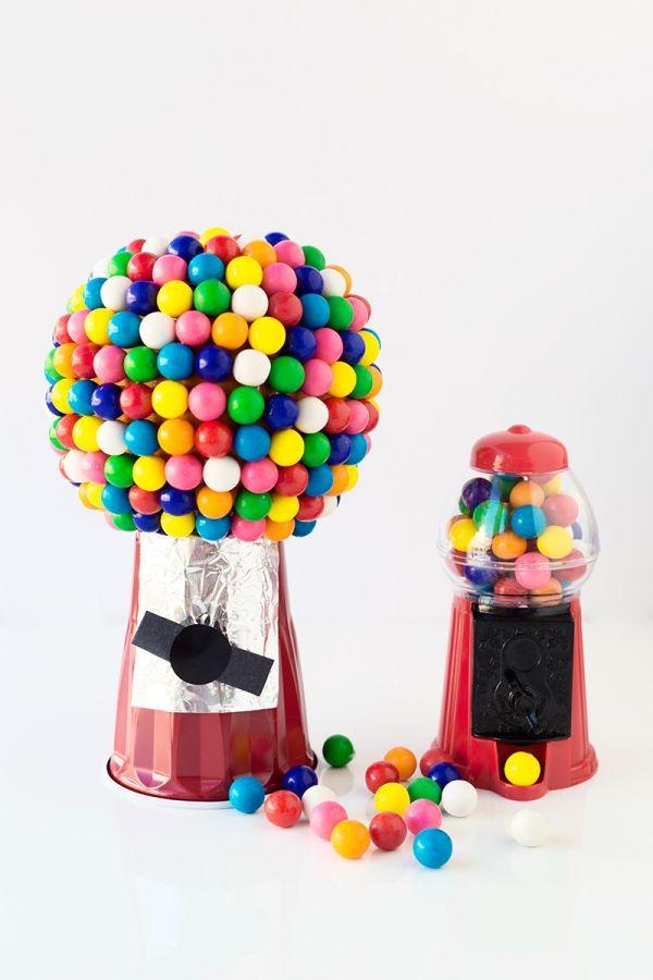 DIY calabaza Gumball Machine   artesaniasdebricolaje.ru