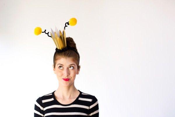 DIY Queen Bee Halloween Costume