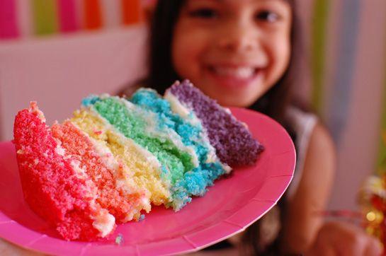 DIY-arco iris-partido