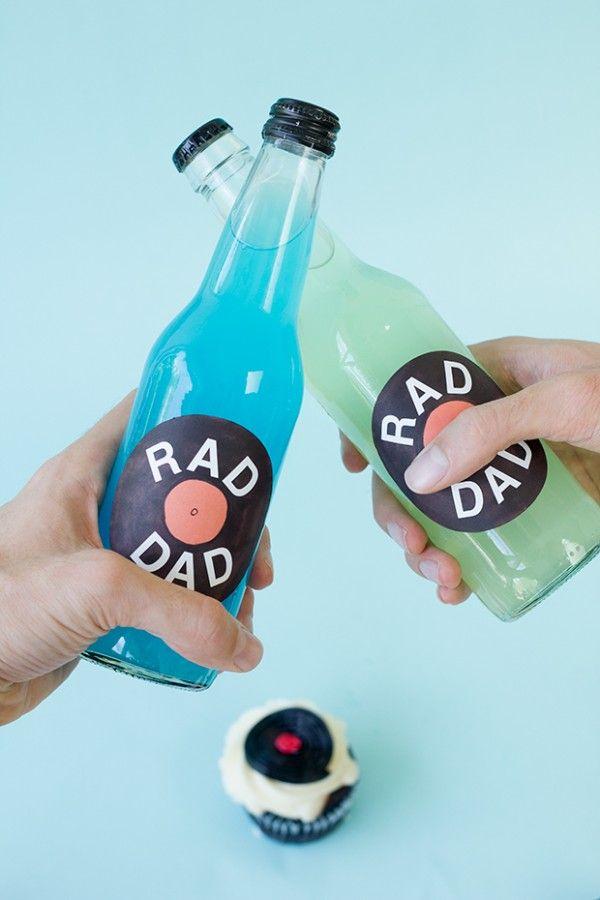 Las etiquetas DIY Registro Soda