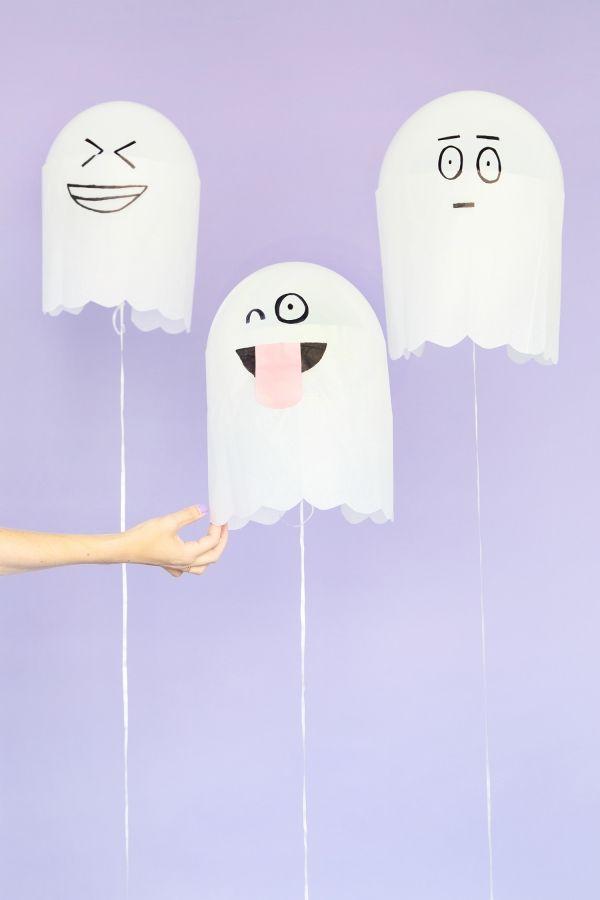Fotografía - DIY Globos Ghost tontos