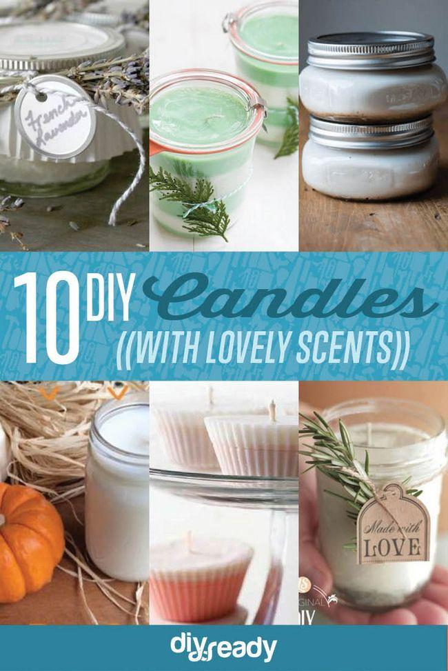 Fotografía - DIY soja velas | 10 Aromas Adictivas le encantará