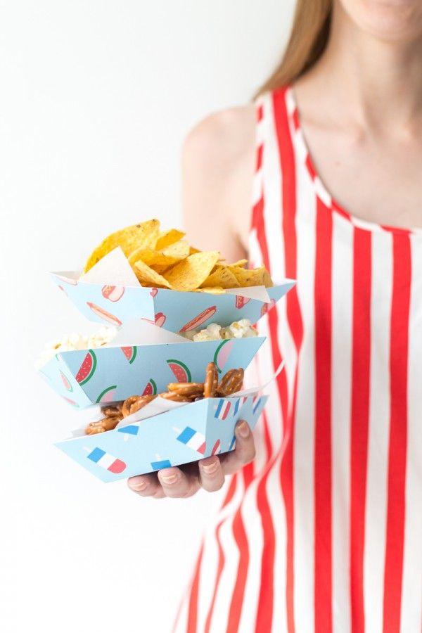 Fotografía - Bandejas de aperitivos de verano DIY