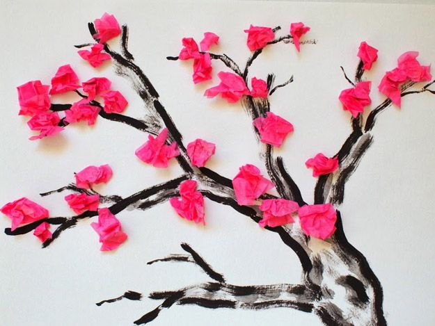 DIY árbol de la vida Arte Ideas | http://artesaniasdebricolaje.ru/12-diy-tree-of-life-ideas/