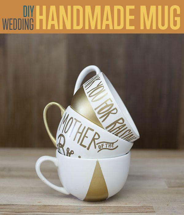 Fotografía - Regalos DIY boda | Oro pintado a mano de café