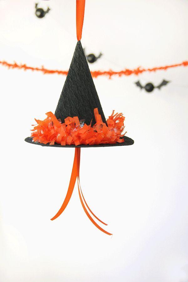 Bruja DIY Sombrero Piñata Tutorial