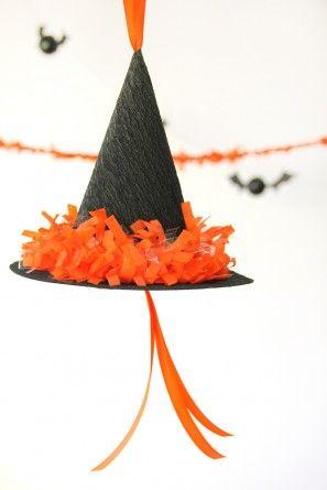 DIY sombrero de la bruja Piñata