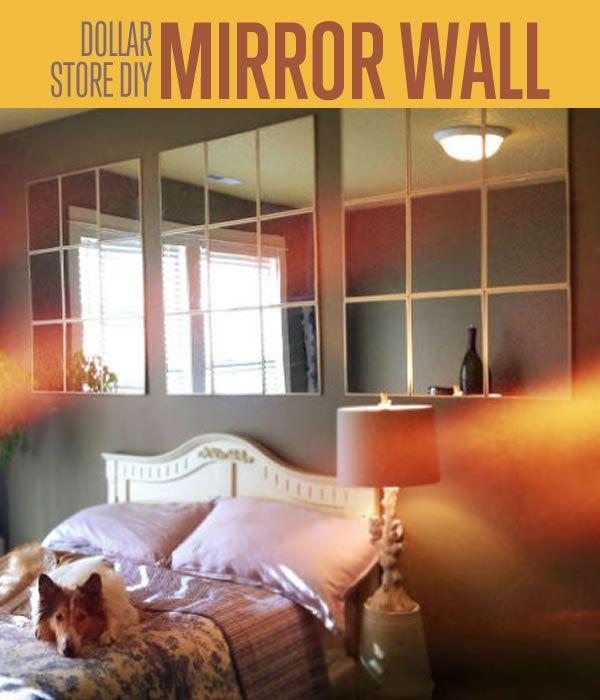 Fotografía - Dollar Store Crafts | DIY Espejo de pared