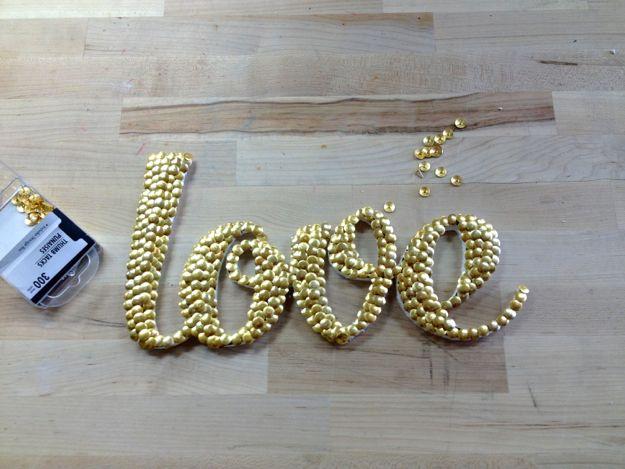 Dollar Store Crafts | Cómo hacer arte de la palabra