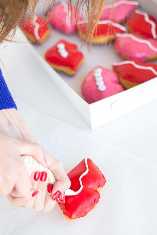 Cómo hacer Donut Besos