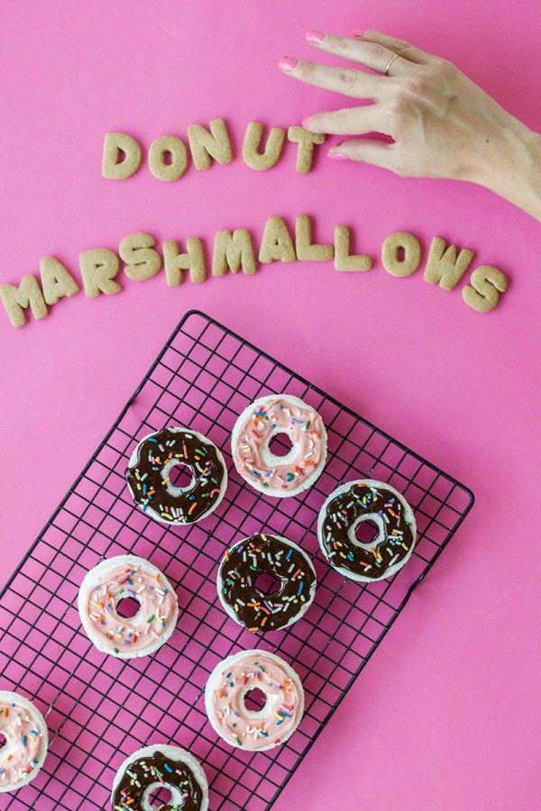 Donut melcochas