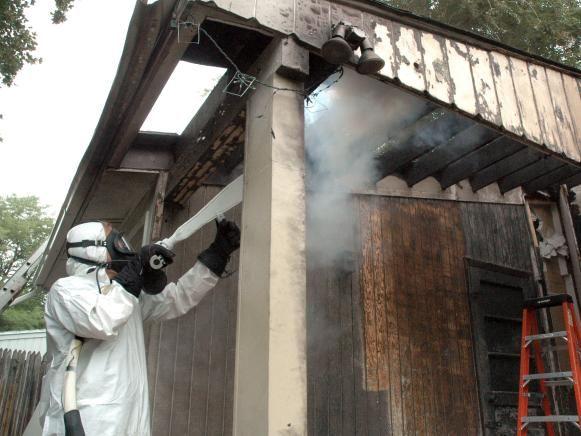 Fotografía - Limpieza criogénica para restaurar el daño de fuego