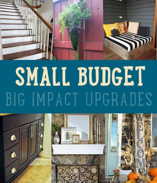 Pequeño Presupuesto Actualizaciones Impacto Grandes | http://artesaniasdebricolaje.ru/small-budget-big-impact-upgrades/