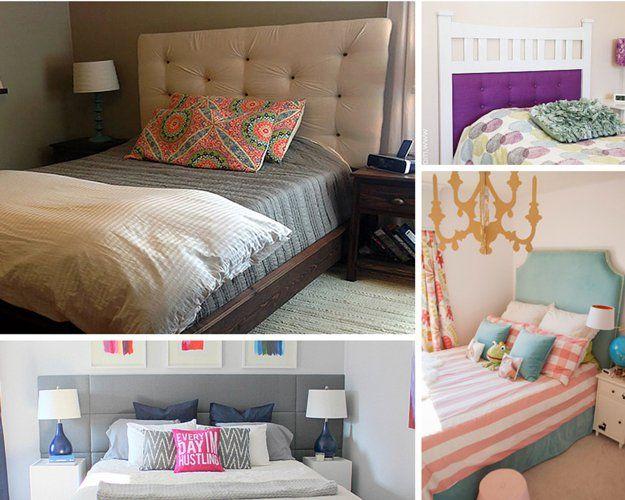 Proyectos de Mejoramiento de bricolaje Home Affordable para el Dormitorio | http://artesaniasdebricolaje.ru/small-budget-big-impact-upgrades/