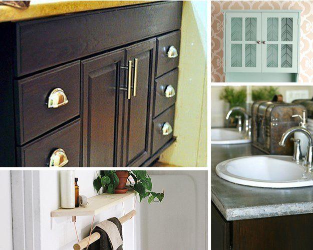 Bricolaje Inicio Imprvement Proyectos para el baño | http://artesaniasdebricolaje.ru/small-budget-big-impact-upgrades/