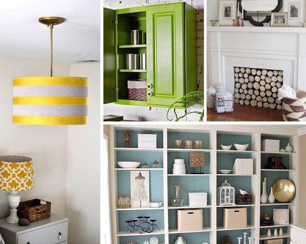 Proyectos DIY baratas e Ideas mejoras para el hogar en un presupuesto | http://artesaniasdebricolaje.ru/small-budget-big-impact-upgrades/