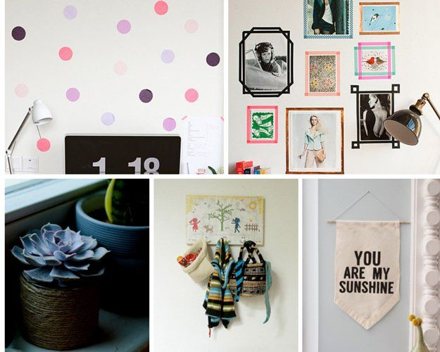 Simple y barato Ideas Decoración para Inquilinos | http://artesaniasdebricolaje.ru/small-budget-big-impact-upgrades/