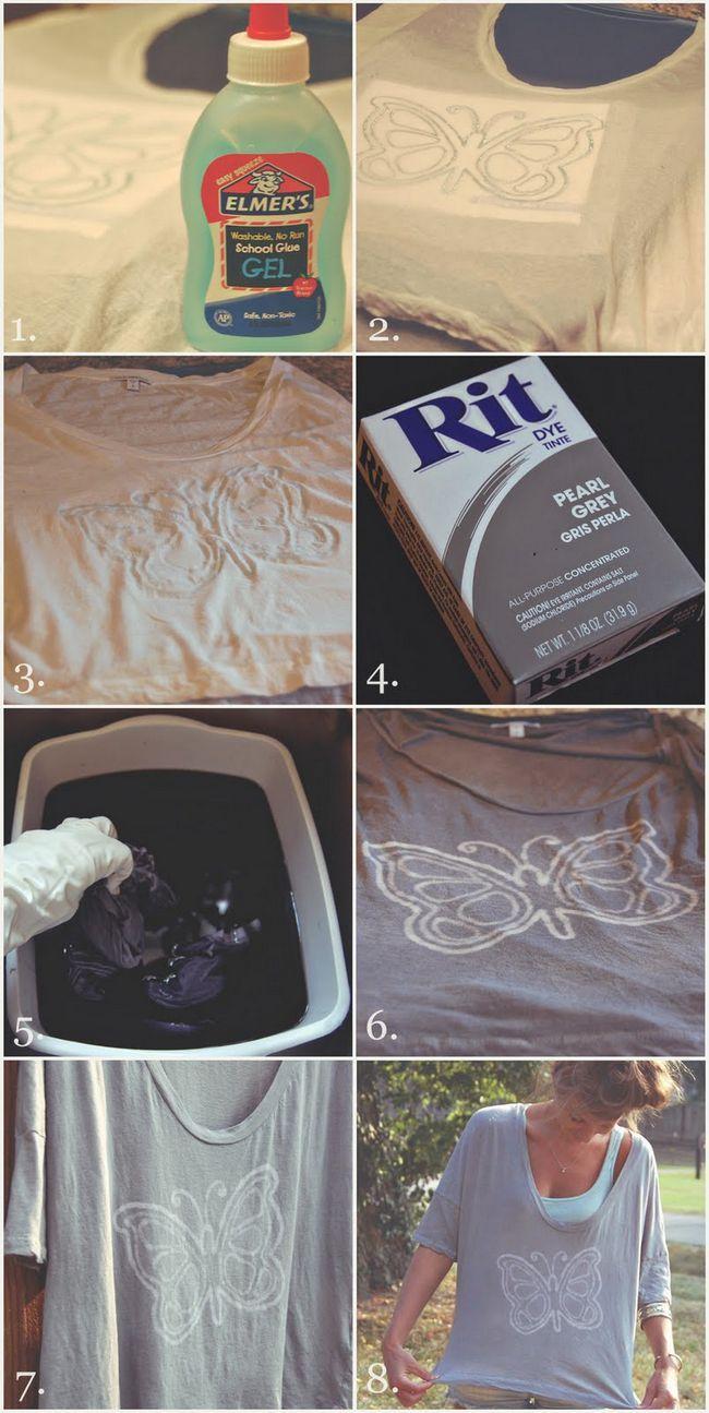 DIY fácil Watermark camiseta