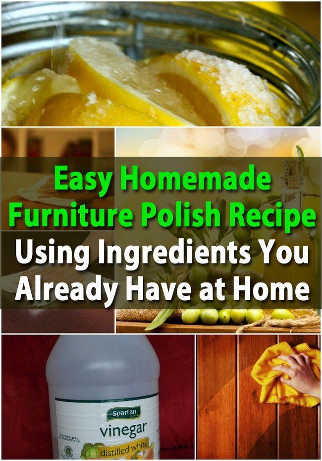 Fácil Casera Muebles polacos receta con ingredientes que ya tiene en casa