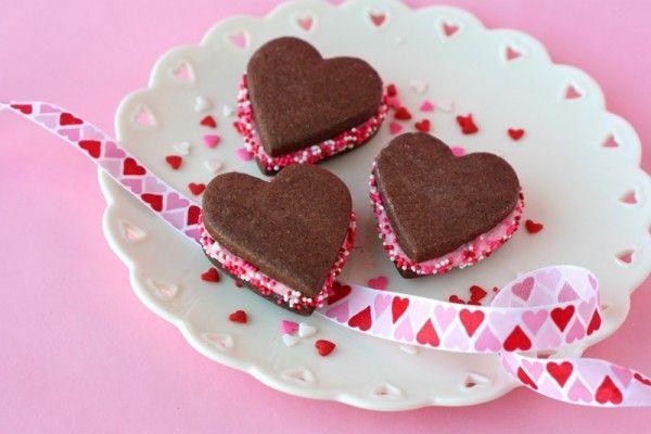 corazón-galleta-sándwiches