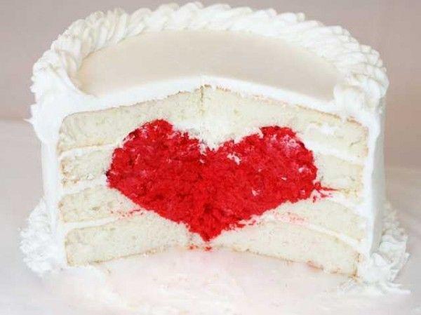 corazón-cake