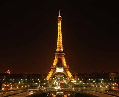 Torre Eiffel en París, Francia