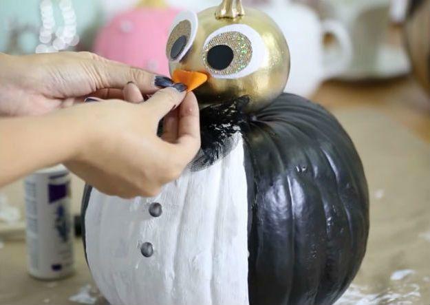 Fabulosas Calabazas adornadas bricolaje | Acción de Gracias Ideas de decoración