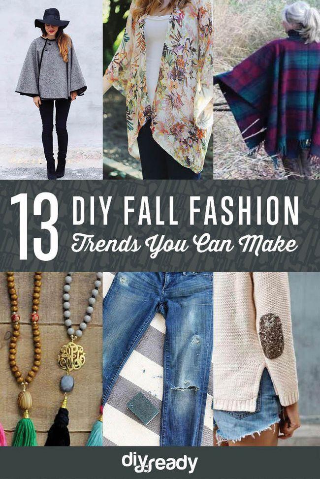 Fotografía - Fall tendencias de la moda que usted puede DIY en el barato