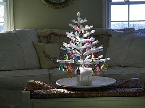 Fotografía - Los árboles de plumas: Decoración de Navidad de Ayer, Hoy