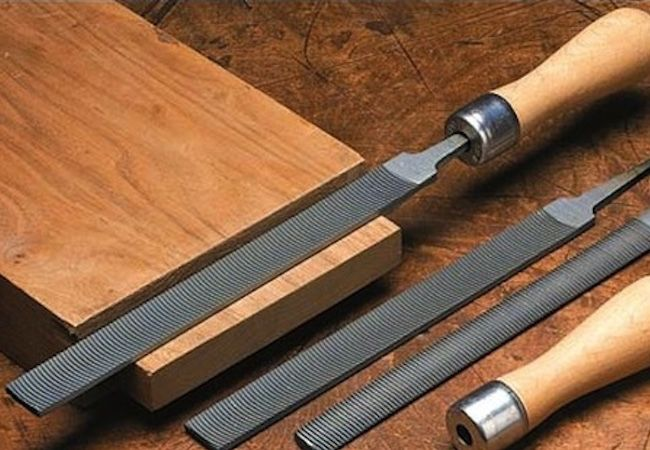 Cómo utilizar un archivo de madera - Herramientas de presentación