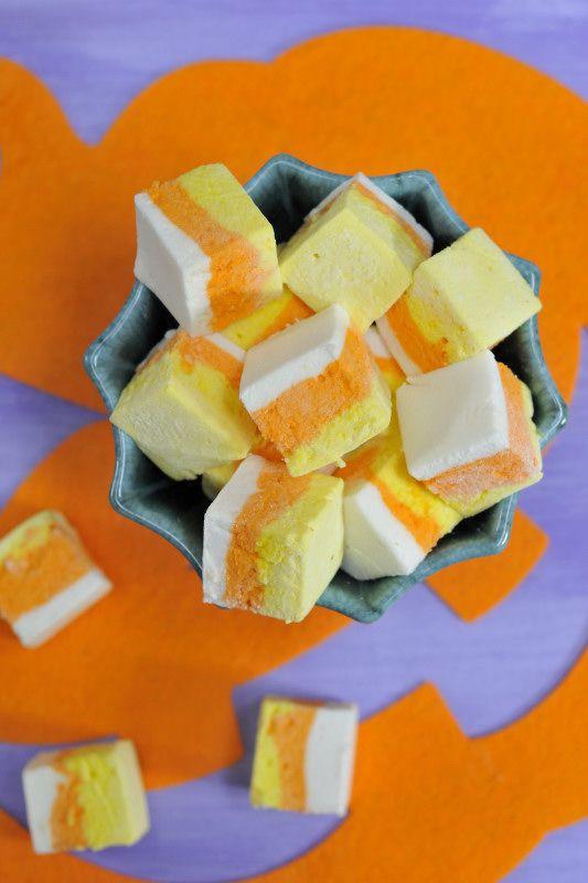Melcochas de caramelo para Halloween