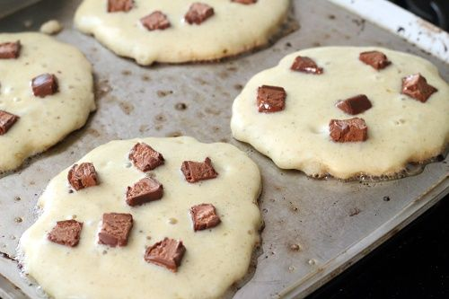 La barra de caramelo Pancakes