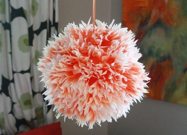 DIY Ombre floral Linterna