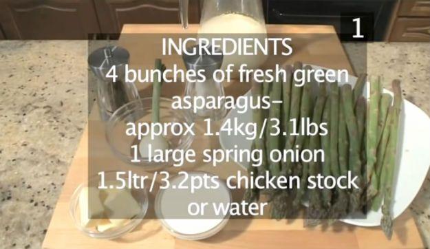espárragos, receta de espárragos, recetas de espárragos, receta de espárragos, mejor receta de espárragos, espárragos cocinar, crema de espárragos, recetas de sopa crema, ¿cómo cocinar espárragos, cómo cocinar espárragos frescos, recetas, recetas de espárragos