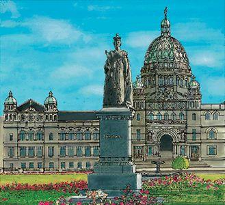 British columbia's Parliament Buildings