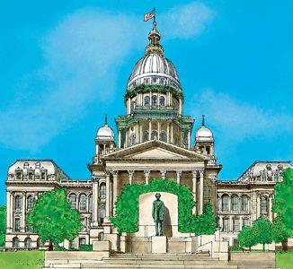 El Capitolio del Estado de Illinois