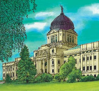 Montana's State Capitol